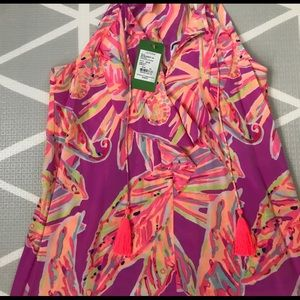 Lilly Pulitzer amethyst sunseeker lachelle XS NWT